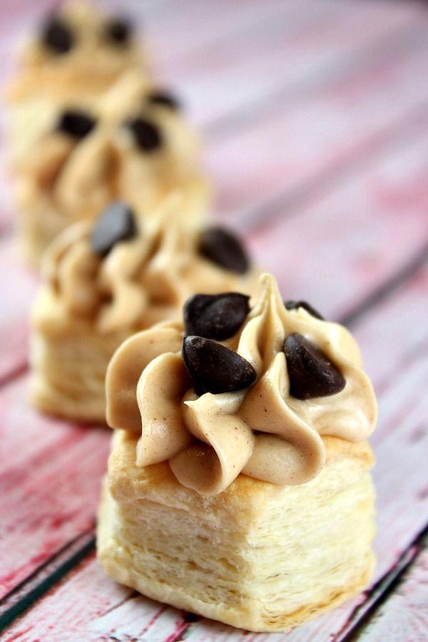 Peanut Butter Mousse Cups from @RecipeGirl {recipegirl.com} {recipegirl.com}