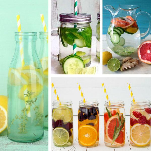 Egészséges életmód -  Detox víz: 24 recept a gyors fogyáshoz