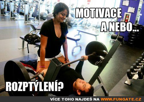 Motivace a nebo…