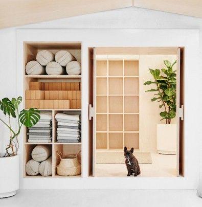 minimalist yoga studio