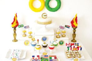 Kick off the Sochi Winter Olympics with 7 excellent party treats, printables and activities for kids