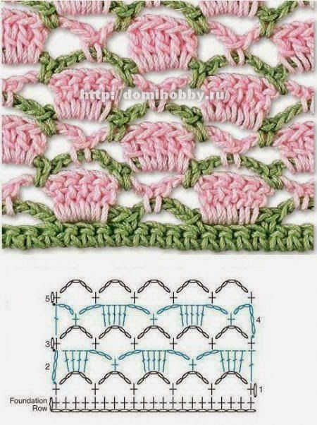 Bees and Appletrees (BLOG): heel mooi haaksteekje - pretty pretty crochetstitch
