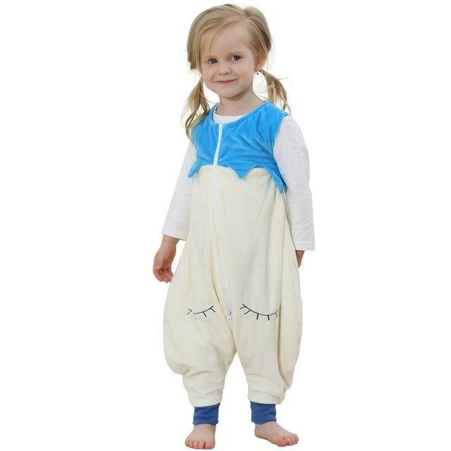 51664ff7b baby boy girls Pajamas Cartoon Images Flannel Warm Sleeping Bag Kids ...