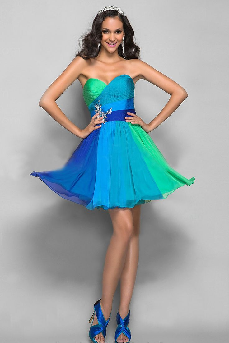 37 best Short/mini prom dresses images on Pinterest | Party wear ...