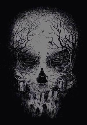 optical skull tattoo illusion dark skulls illusions ghost horror disney haunted tattoos calaveras death indulgy