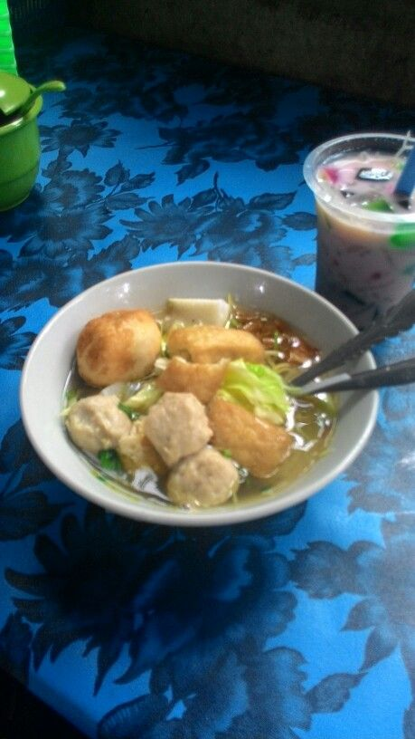 Bakso. Indonesian food