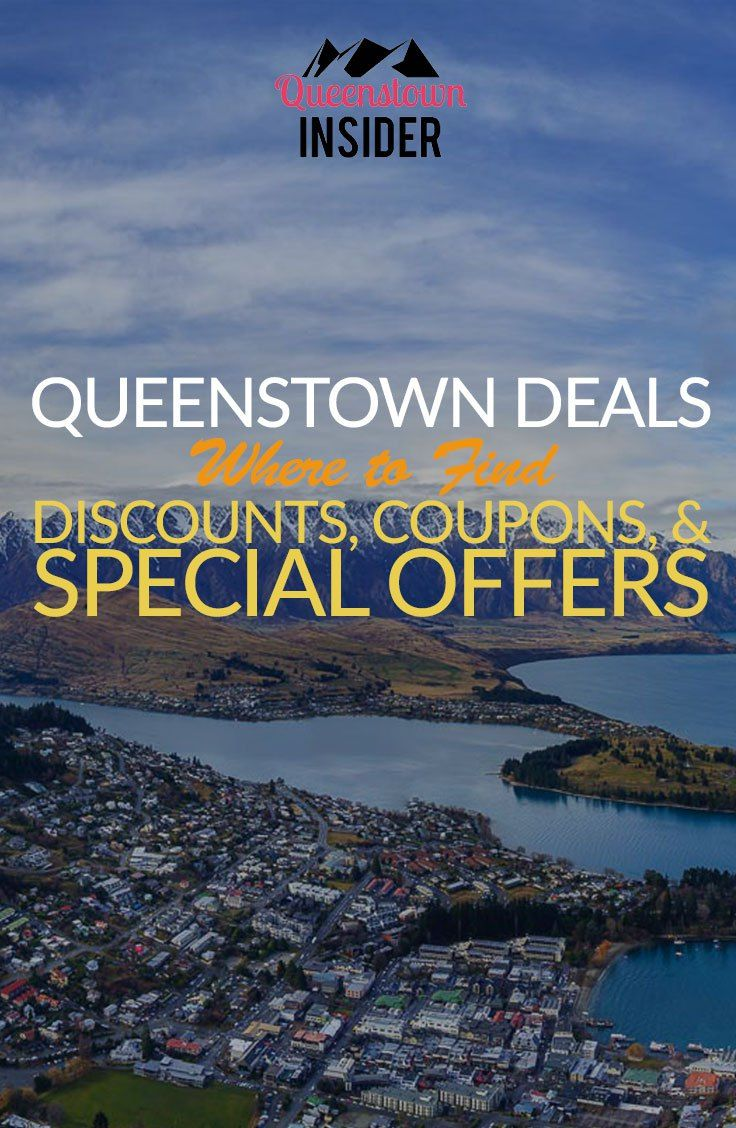 Getting the most our of your visit to Queenstown means being wise with your money. Find out how to get the best deals, discounts and special offers with our guide