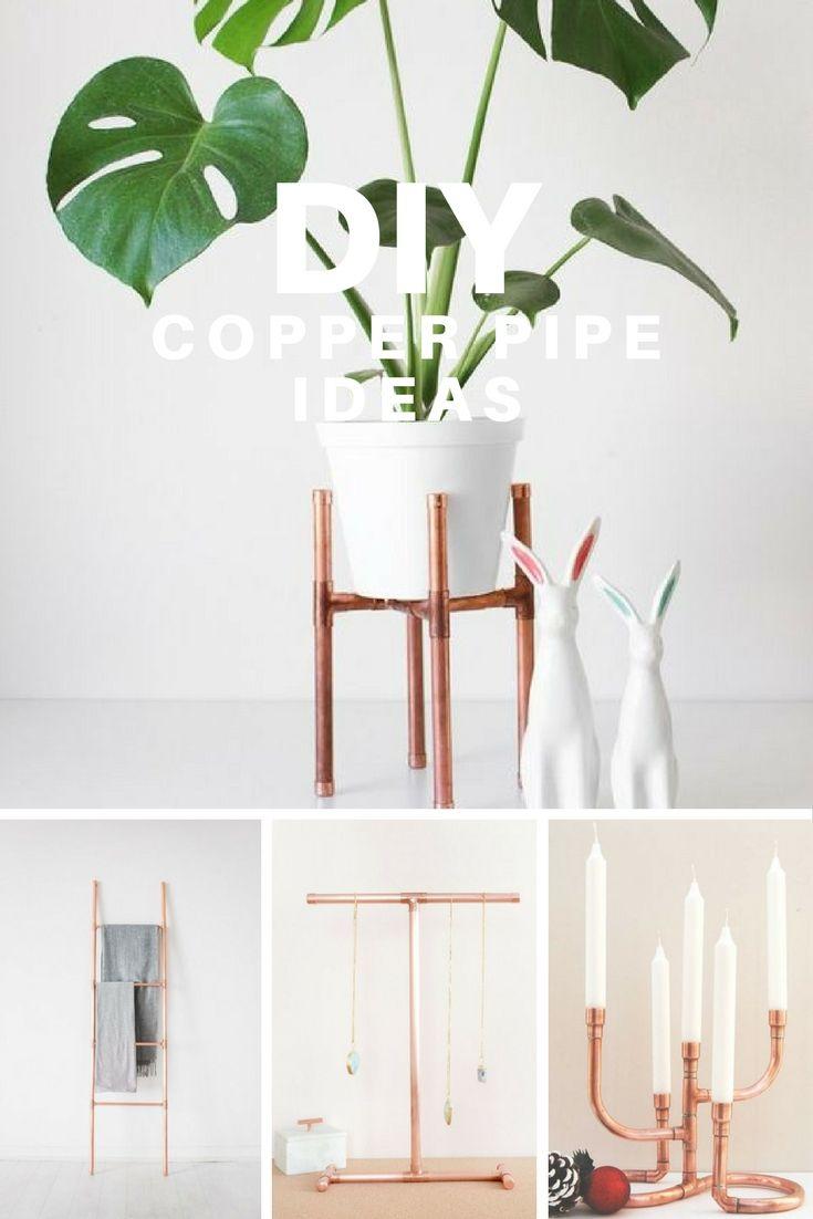 DIY Ideas with Copper Pipes - La creme