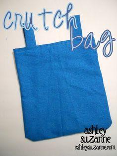Crutch bag template