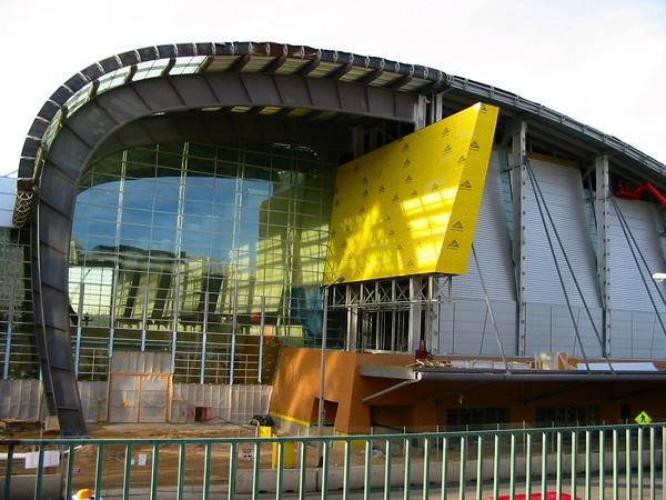 DeVos Place under construction - 2003