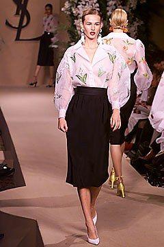 Saint Laurent Spring 2001 Couture Collection Photos   Vogue