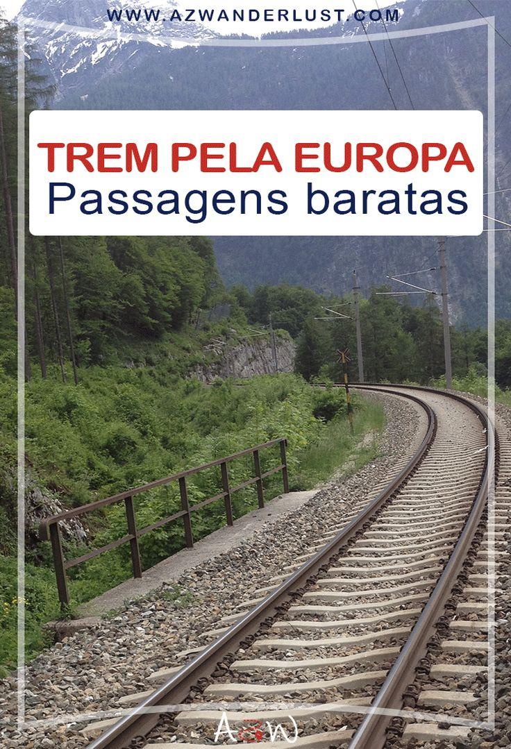 Confira as dicas para comprar passagem de trem barata nos trechos da Europa. Economize até 50% no orçamento final da viagem.