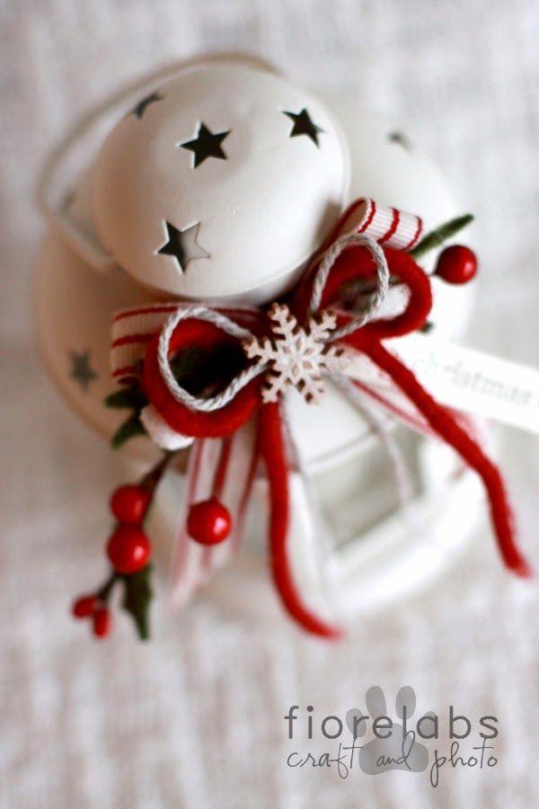 Oltre 1000 idee su lanterne di natale su pinterest - Lanterne portacandele ...