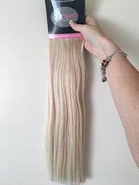 """20"""" Clip In Human Hair Extensions-120g   Trade Me"""
