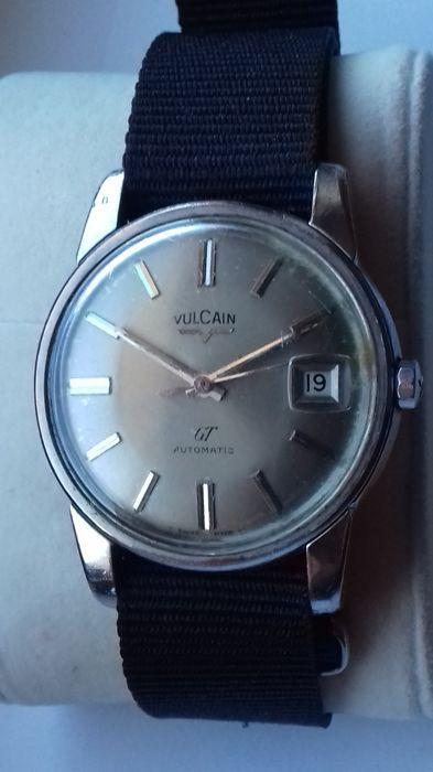bcb4945aa26 Atualmente nos leilões da  Catawiki  Vulcain - GT Automatic - All Steel -  Homem - 1960-1969