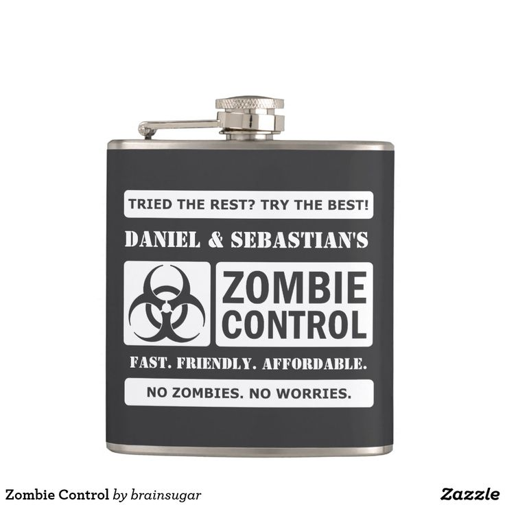 Zombie Control Flask