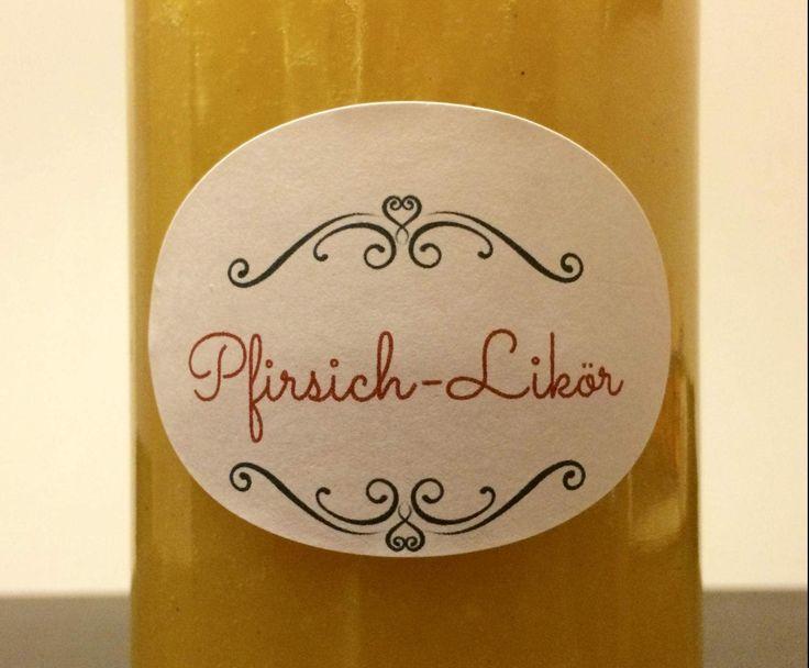 Rezept Pfirsich-Likör von masu_hh - Rezept der Kategorie Getränke