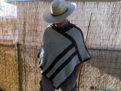 Ravelry: Icy Hombre Poncho pattern by Miko Coffey