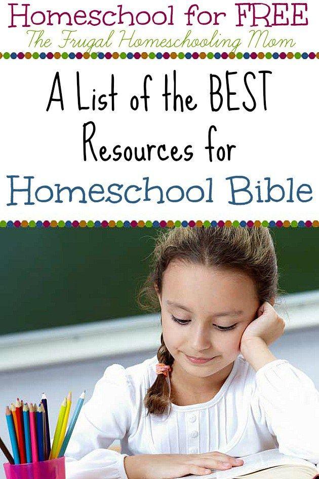 bible based homeschooling resources free printables frugal homeschool mom