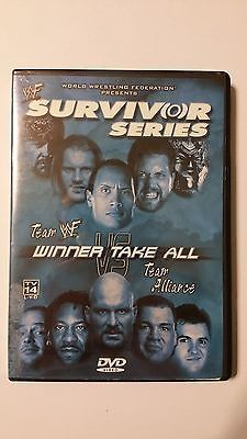 WWF - Survivor Series 2001: Winner Take All (DVD, 2002) Used WWE WWF WCW RARE