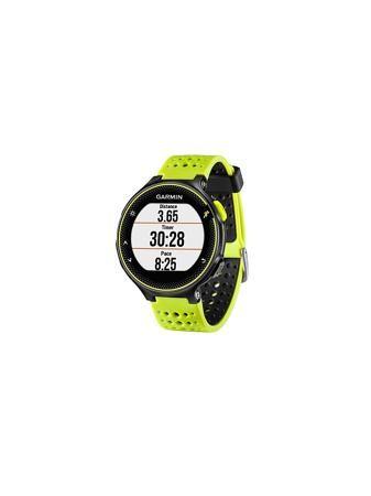 """GARMIN Умные часы Forerunner 230 желто-черные  — 24090 руб. —  Беговые GPS часы с опциональным нагрудным пульсометром для продвинутых бегунов. Оснащены фитнес-трекером, магазином загружаемых приложений а также функциями """"умных"""" часов. Учет тренировок, как в зале, так и на свежем воздухе. Беговые часы GPS со смарт-функциями. Устройство отслеживает расстояние, темп, время, частоту пульса1 и VO2 Max. Подключаемые функции 2: автоматическая загрузка данных в приложение Garmin Connect, """"живое…"""
