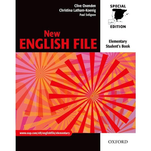 New English File Elementary Student S Book For Spain En 2021 Libros De Gramatica Inglesa Libro Ingles Libro De Texto