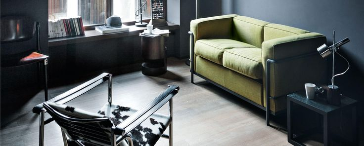 LC2 - Le Corbusier, Jeanneret, Perriand   Cassina