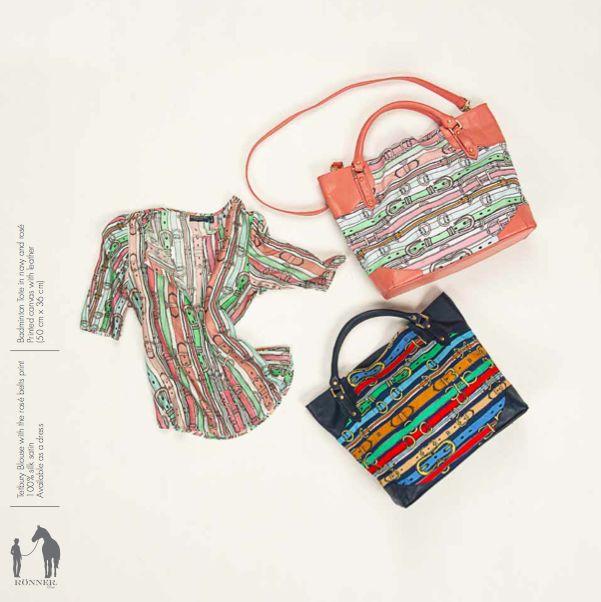 Tetbury blouse, badminton bag. Rönner