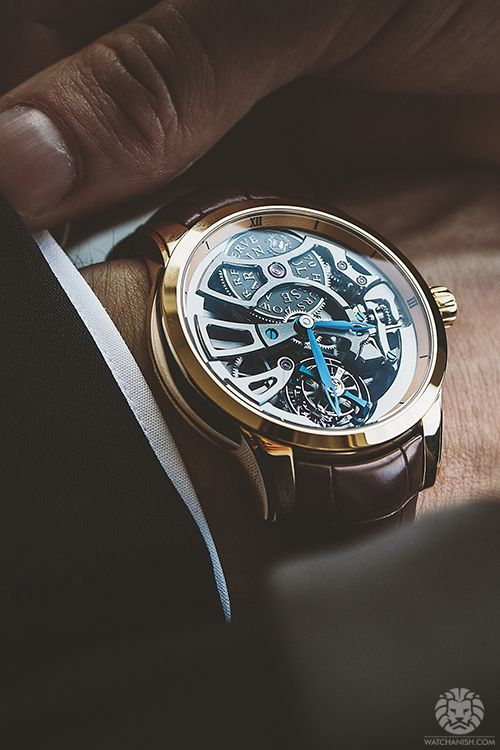 Out in NYC with Ulysse Nardin.