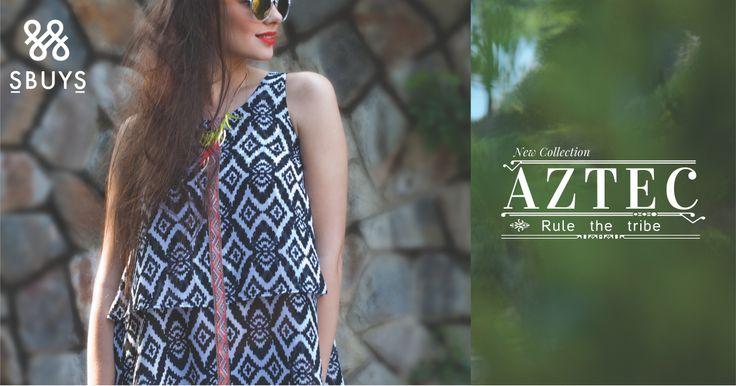 Shop the Aztec collection now at www.sbuys.in