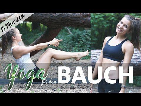 Yoga Bauch Workout Intensiv   15 Minuten Core & Abs für einen straffen Bauch - YouTube
