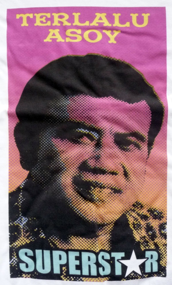 The living legend: Rhoma Irama. A t-shirt design for myself. :)