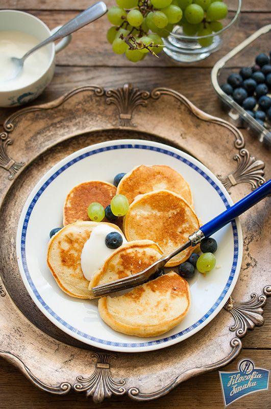 Placuszki jaglane na słodko (na mące jaglanej)