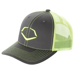 New Item! The all new FLY Collection neon trucker hat by EvoShield is sure to turn heads at the park or around town. This color is sure to be the hottest item this season. The perfect swag for on or off the field. Pick one up at http://www.bpathletics.com/p-1668-evoshield-neon-fly-baseballsoftball-mesh-flex-fit-trucker-hat.aspx