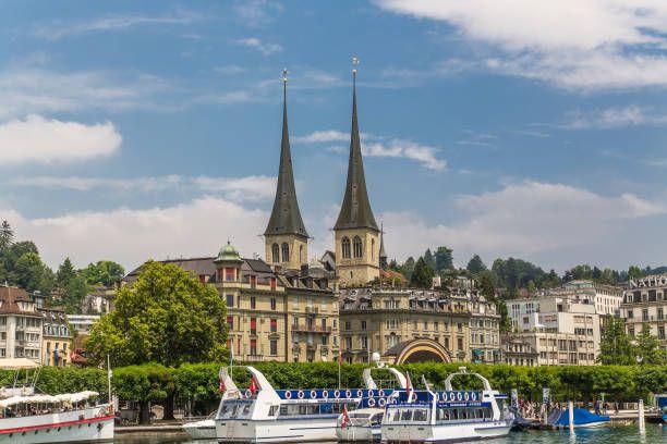 Швейцария. Люцерн стоковое фото