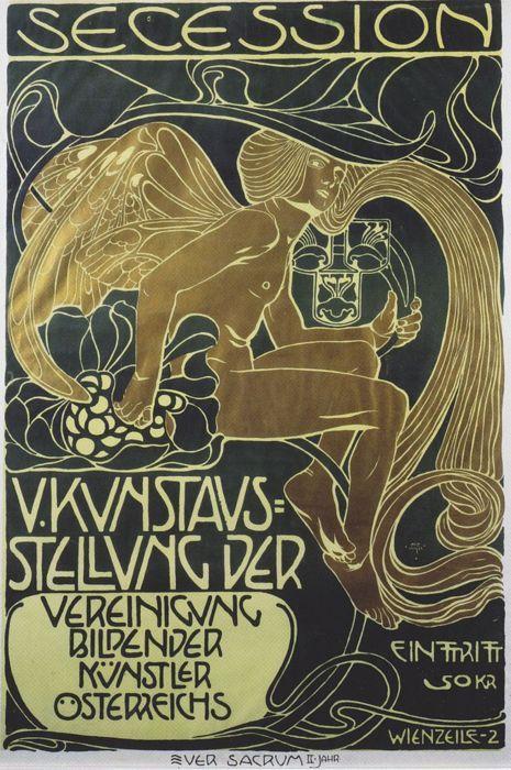 Secession ... Koloman Moser   1899