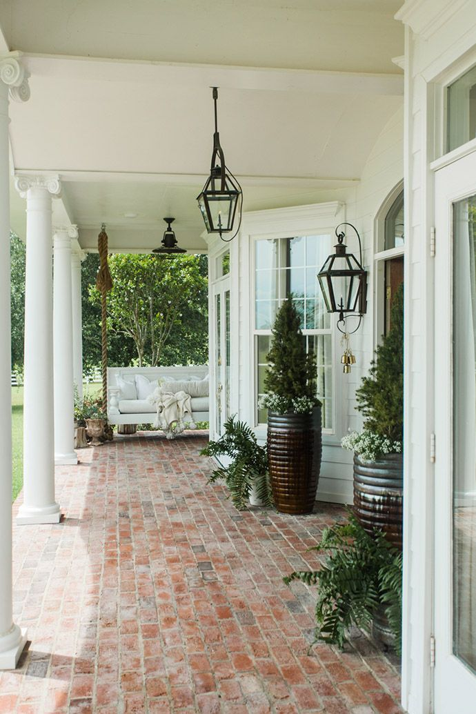 Best 25+ Brick porch ideas on Pinterest | Southern front porches ...