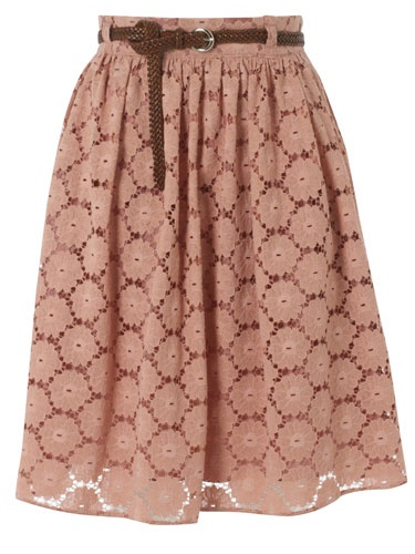Primark's Swan Lake collection Lace belted midi £14
