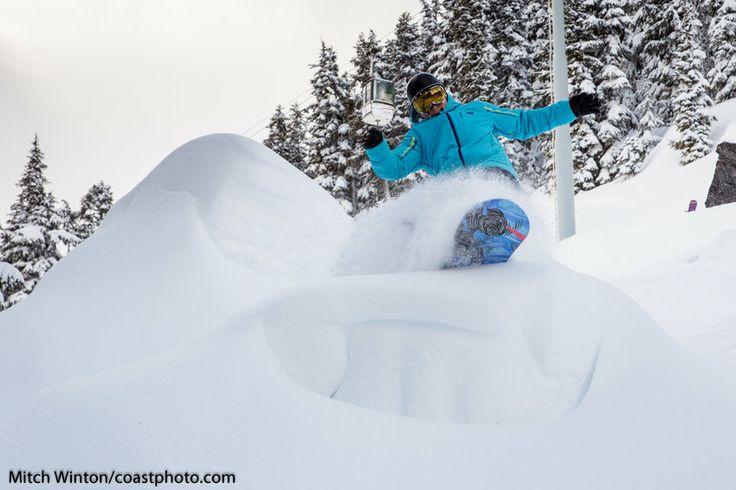Face Forward Falling While Skiing