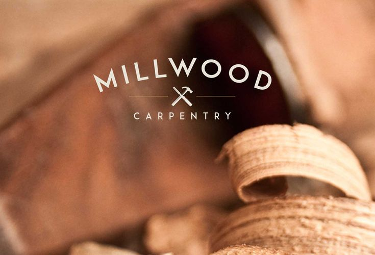 Professional Logo Design for bespoke carpentry startup business 'Millwood Carpentry' based in Cardiff, Wales. We developed a logo design, business stationery and professional printing to help launch their new business. #carpentrylogo http://logorocket.co.uk