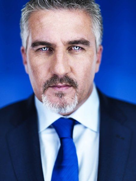 Paul Hollywood - Master Baker & TV Presenter Just hypnotic and slightly sinister, but sexy as hell. Photographed with a ring light , yes?