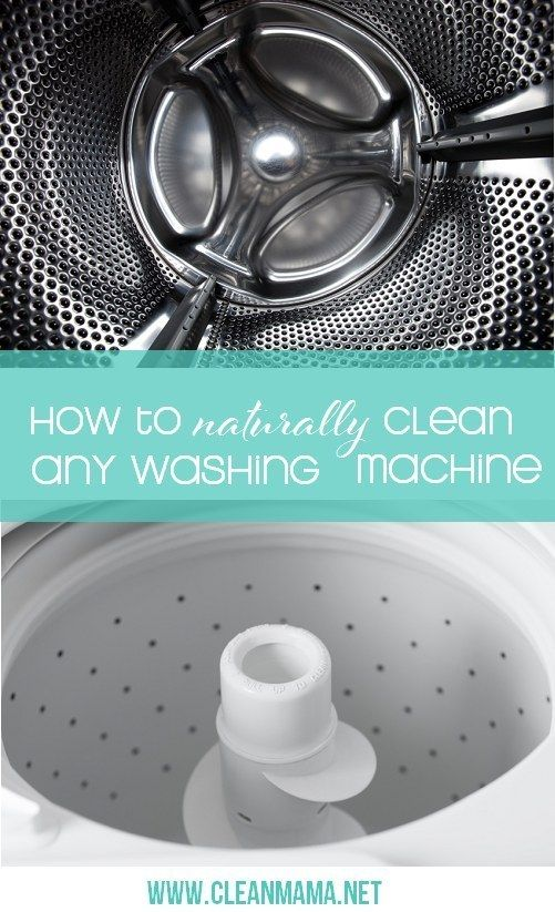 You clothes can't be clean if your machine isn't. Get the how-to for both front-loading and top-loading washers here.
