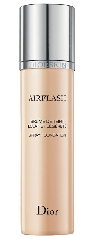 'skin airflash' spray foundation by Dior. Diorskin Airflash Spray Foundation, a go-to solution for professional makeup artists, brings an airbrushed effect to your makeup routine. Its lightweight, silky formula gives you a flawless, velvety, super-smooth and even finish that fee... #dior #makeup #beauty