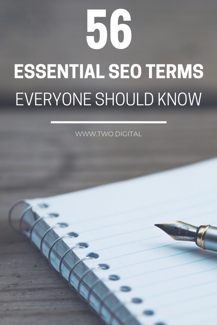 Are you confused about the world of SEO and SEO jargon? Here's an A-Z list of all the terms you may come across, each with an easy-to-understand explanation. http://www.two.digital/blog/seo-glossary-of-terms