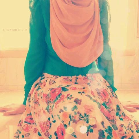 islamic modest clothing <3 #hijab #vintage #floral