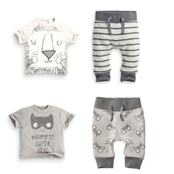 Baby Rompers - Monsters And Lions Clothing Sets, K&B