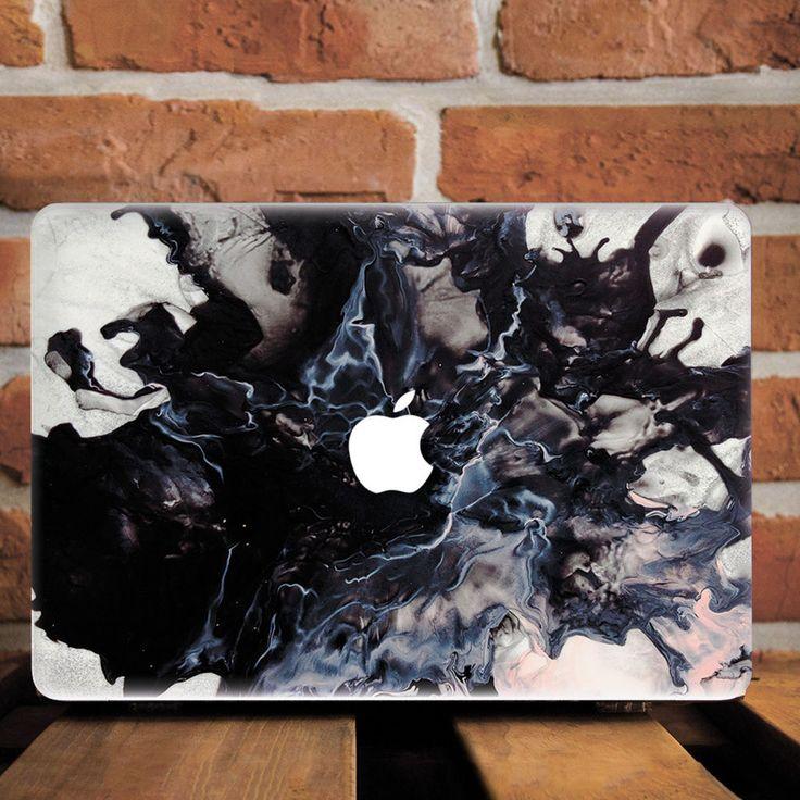 Vintage Smoky Marble Grain Hard Plastic Case For Macbook Pro Retina 15 Air 11 13…