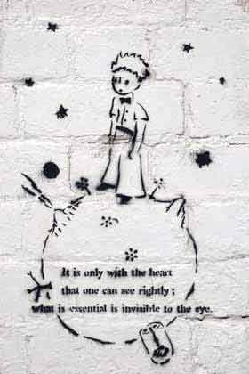 Mały Książę - graffiti