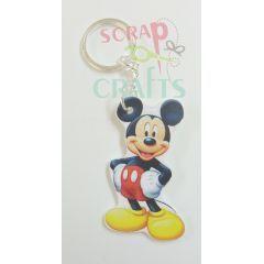 Ξύλινο καρτούν μπρελόκ, ιδανικό για πασχαλινή λαμπάδα ή μπομπονιέρα βάπτισης. http://scrap-crafts.gr
