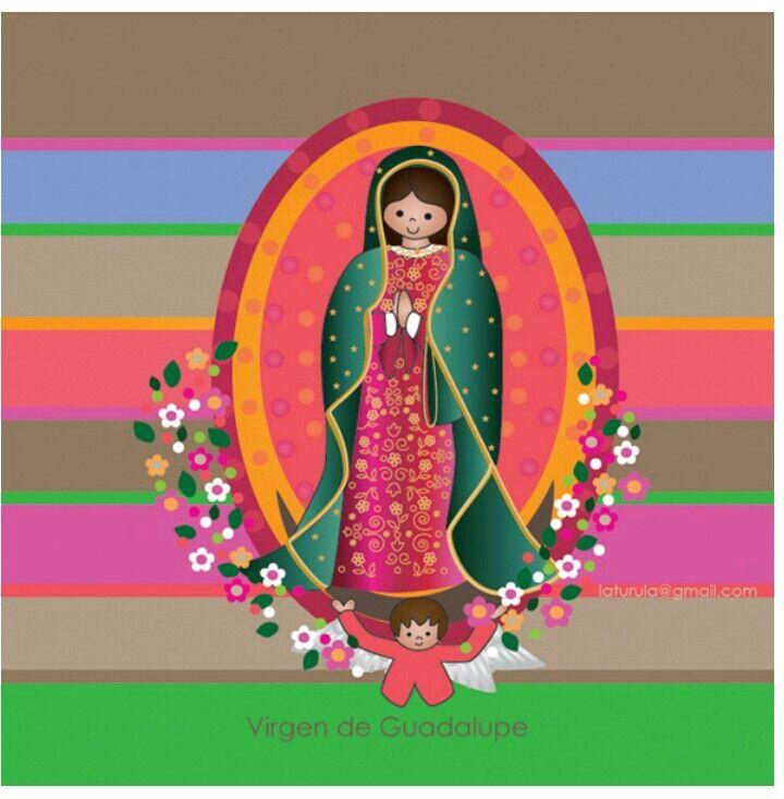 Virgen de la Guadalupe.